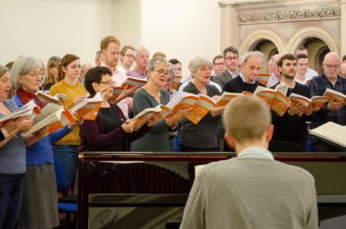 Rehearsal at St Peter's